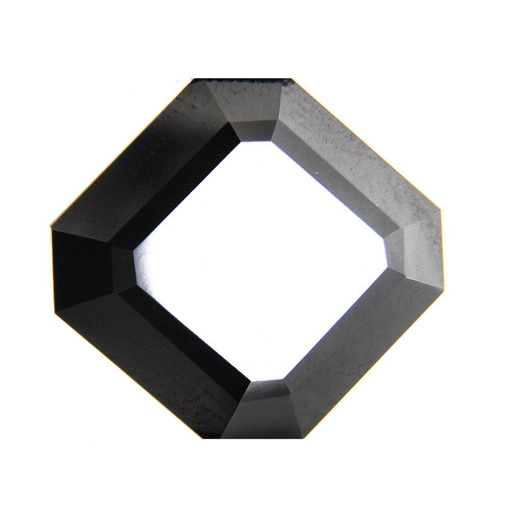 skyjewels 1.70カラット認定八角形カットブラックダイヤモンドAAA品質   B077PBS3MY
