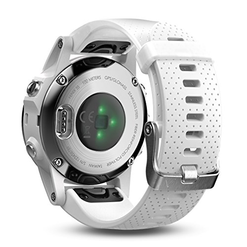 Garmin Fenix 5S Premium GPS Multisport Watch Ultimate Power Bundle | Includes Garmin Fenix 5S Watch (42mm), Wearable4U Power Bank, and Wearable4U Car and Wall USB Charging Adapters | by Wearable4U (Image #2)