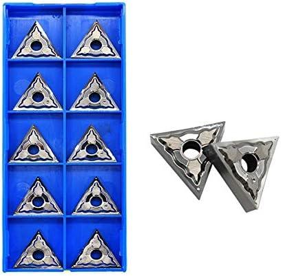 Drehbank 10PCS TNMG160404 AK H01 TNMG 160408 TNMG160402 Aluminium Dreheinsätze Carbide Runde Blade TNMG 160408 CNC-Drehmaschine Cutter (Insert Width(mm) : TNMG160404 HA H01)