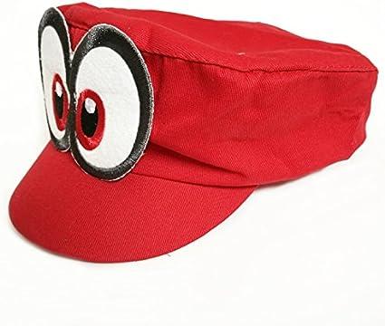 Super Mario Gorra Odyssey - Costume para Adultos y niños Carnaval ...