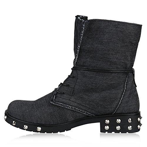 Negro Clásicas Mujer Botas Clásicas Stiefelparadies Mujer Stiefelparadies Stiefelparadies Botas Botas Negro f5q5wTA