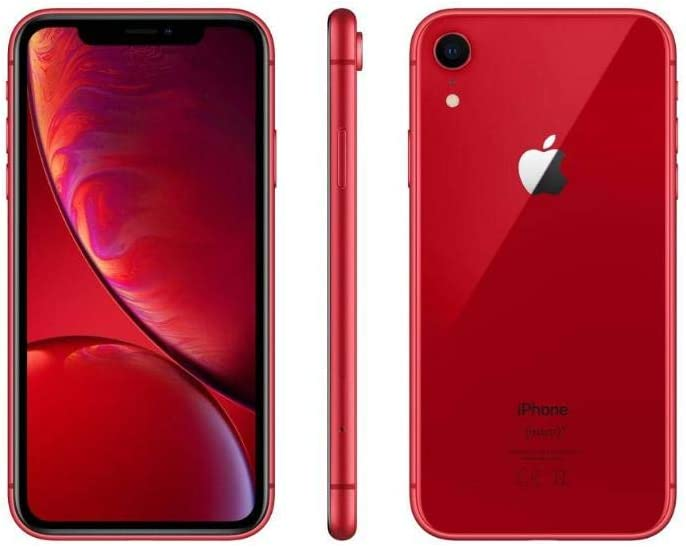 Apple iPhone XR, 64GB, Red for T-Mobile (Renewed)