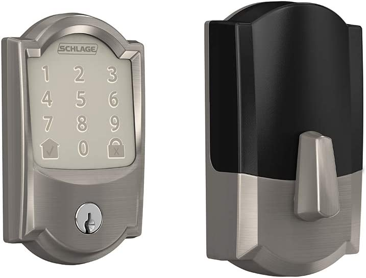 Schlage BE489WB-CAM Encode WiFi Enabled Electronic Keypad Nickel