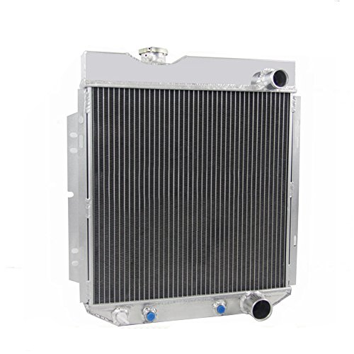 ALLOYWORKS 3 Row Aluminum Radiator for Ford Mustang V8 260 289, Manual and Automatic Transmission