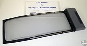 Major Appliances WP-349639 fits Whirlpool Kenmore Dryer Lint Screen Filter AP2910873 PS347661