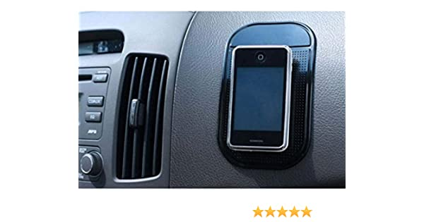 Car Non-Slip Dashboard Mat Holder Sticky Mount Vehicle Dash Grip Black for Verizon Motorola Moto Z Droid - Verizon Motorola Moto Z Force Droid - Verizon ...