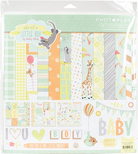 Photoplay Paper Photo Play about a Little Boy Collection Pk 12x12 Pack