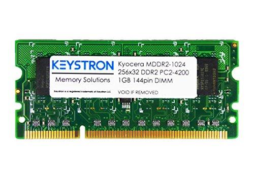 1GB Kyocera DDR2-400 144-pin SDRAM SODIMM Printer Memory (p/n MDDR2-1024) by Keystron