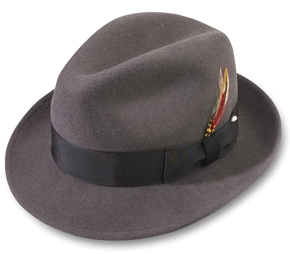 81564b883aee9 Broner Melodrama Blues Litefelt Hat at Amazon Men s Clothing store  Fedoras