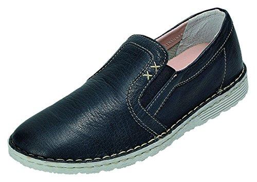 Femme Nappa Bleu Chaussures À Natur 196 De Shoe Relaxshoe Lacets Ville Relax Blu 119 Pour RqO8zX