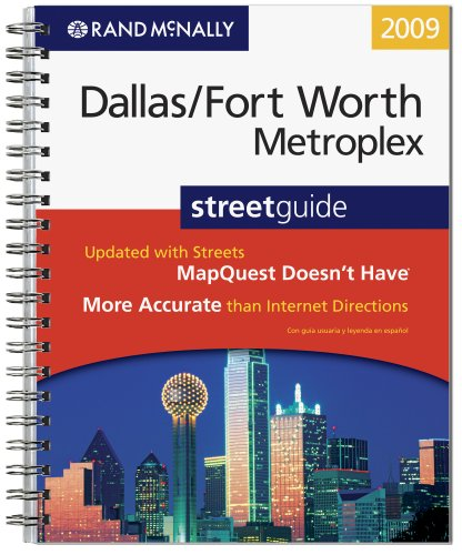 Rand McNally 2009 Dallas/Fort Worth Metroplex, Texas street guide - Fort Worth Map