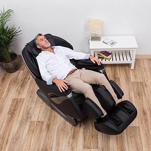 SAMSARA Sillón de masaje 2D - Negro (modelo 2019) - Sillon ...