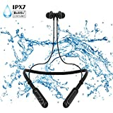 Bluetooth Headphones, Stereo Earbuds Magnet Waterproof IPX7,4 EQ Sound Modes,Bluetooth 4.1, CVC 6.0 Noise Cancelling Microphone for Android,IOS and other bluetooth devices