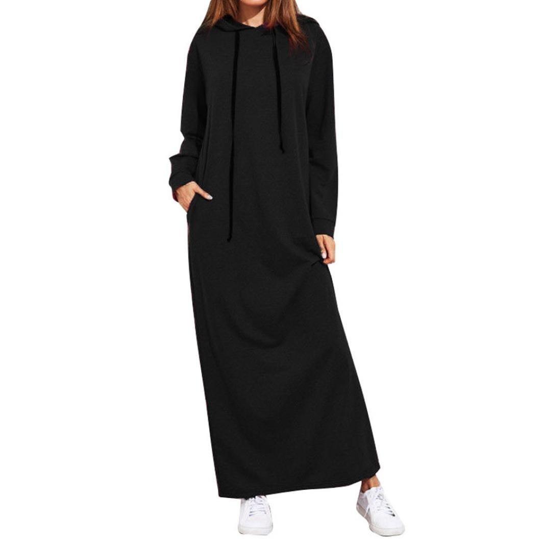 77d7cc69db407 Amazon.com  Leewos Clearance! Long Sleeve Hoddies Dress