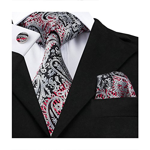 Barry Wang Cufflinks Paisley Necktie Accessories product image