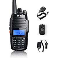 TYT TH-UV8000D +Speaker+Car Charger+Battery Ultra-high Output Power 10W Amateur Dual Band, Dual Display and Dual Standby Handheld Two-way radio Walkie Talkie Transceiver
