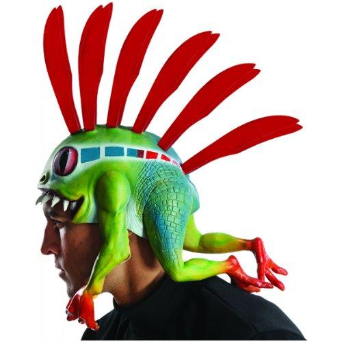 Rubie's Costume Co Men's World Of Warcraft Murloc Headpiece, Multi, One Size (Hat Of Warcraft World)