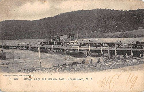 Cooperstown New York Otsego Lake Waterfront Antique Postcard K78341 ()