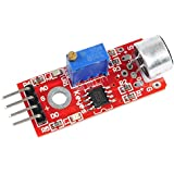 SODIAL(R) 1 pcs Microphone Sensor AVR PIC High Sensitivity Sound Detection Module For Arduino