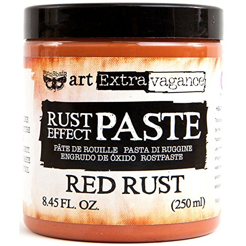 Prima Marketing Art Extravagance Rust Paste 250ml-Red by Prima Marketing