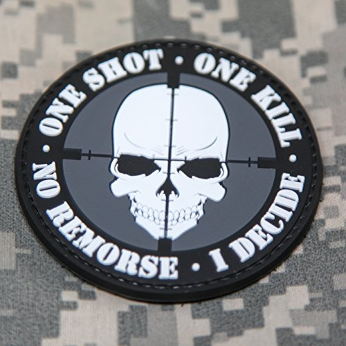 Shot Remorse Decide Rubber Patch