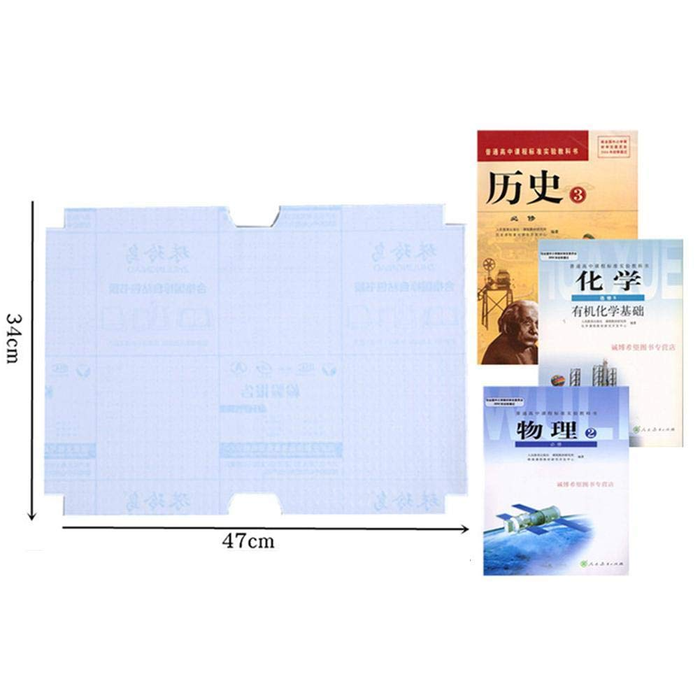 A4 Anglerfish 10 sheets//set Plastic Self-adhesive Book Cover Film Clear Book Protector Sleeves Students Gifts Back to School Supplies