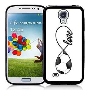 Cool Painting Soccer Love Soccer Infinity Love Thinshell Case Protective Galaxy s4 Case sIV Case i9500