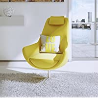 UrbanMod Living Lounge Chair Yellow