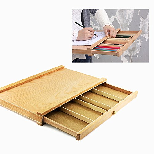 Alvin Photo Mat Board (Portable Art Drawer Tabletop vintage Wood Case Easel Set Artist Painting Drawing)