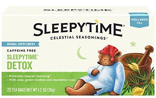 - Celestial Seasonings Wellness Tea, Sleepytime Detox, 20 Count Box (Pack of 6)