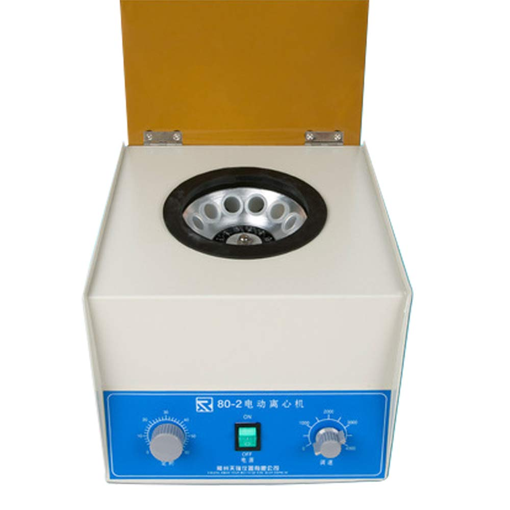 GOOG 80-2 Electric Lab Centrifuge Separation of Plasma Adjustable The Timing Function Separation Bubble Laboratory Centrifuge (110v) by GOOG