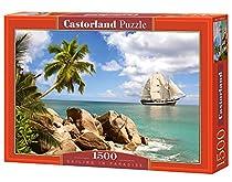 Castorland C-150526 Sailing in Paradise Puzzle, 1500 Pieces