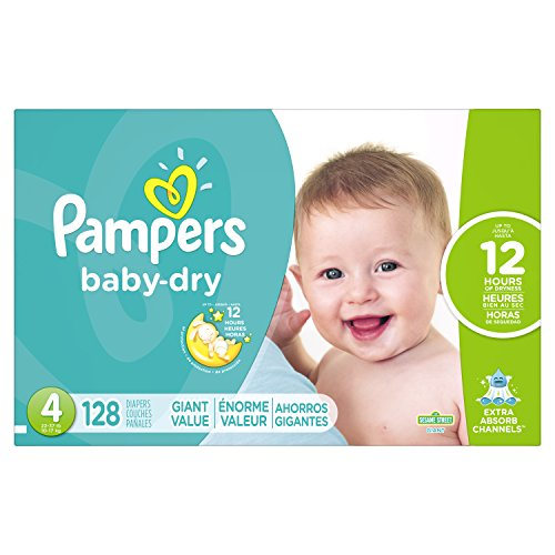 Price comparison product image Pampers Baby Dry Diapers Size 4,  128 Count