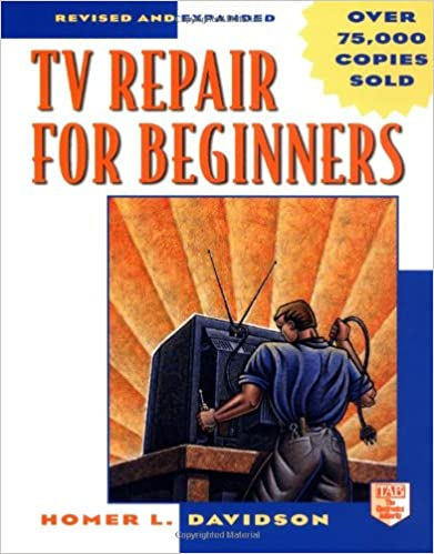 Book TV Repair for Beginners