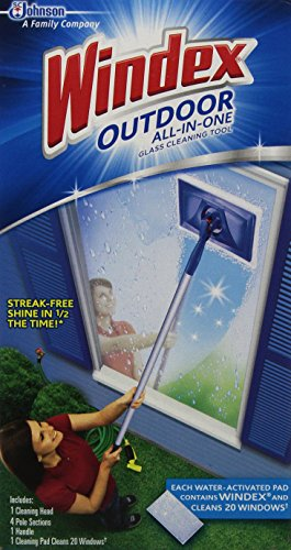 Windex Cleaner Window Outdoor All In -