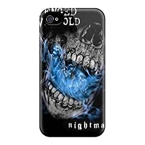Protector Hard Phone Cases For Iphone 4/4s (fmm14785HHNl) Customized Beautiful Avenged Sevenfold Pattern
