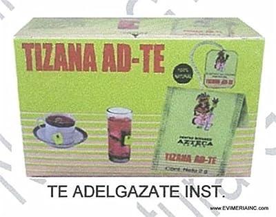 Tizana AD TE te adelgazante weight loss Tea 25 Tea Bags best diet tea