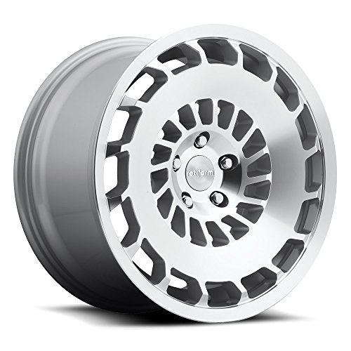 (Rotiform CCV 18 Silver Wheel / Rim 5x100 with a 35mm Offset and a 57.1 Hub Bore. Partnumber R135188579+35R)