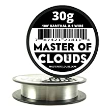 100 ft - 30 Gauge Kanthal A1 Resistance Wire AWG 100' Lengths