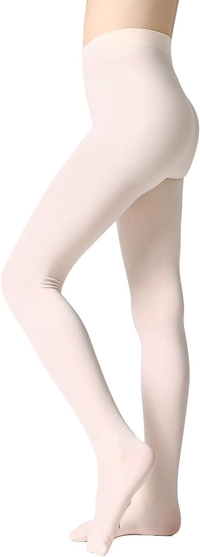 MANZI 1-3 Pairs Girls Pro Ballet Tights Ultra Soft Transition Convertible Dance Tights