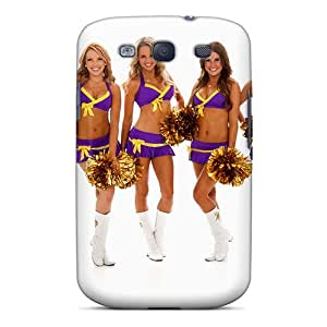 Hot New Minnesota Vikings Cheerleaderswimsuit Calendar 2013 Case Cover For Galaxy S3 With Perfect Design