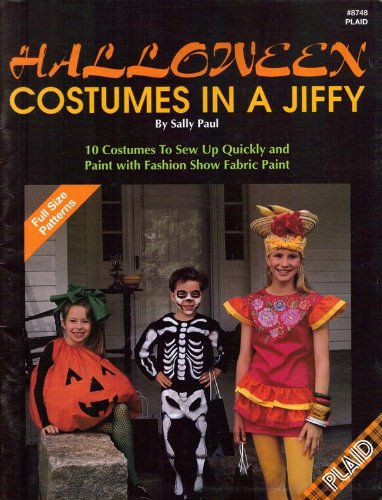 Halloween costumes in a jiffy: 10 costumes to sew up quickly and paint with fashion show fabric -