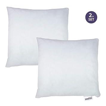 Merino Betten 2er Set Kissen 60x60 Dekokissen Couchkissen Kissen Mit Reißverschluss Weitere Verfügbar