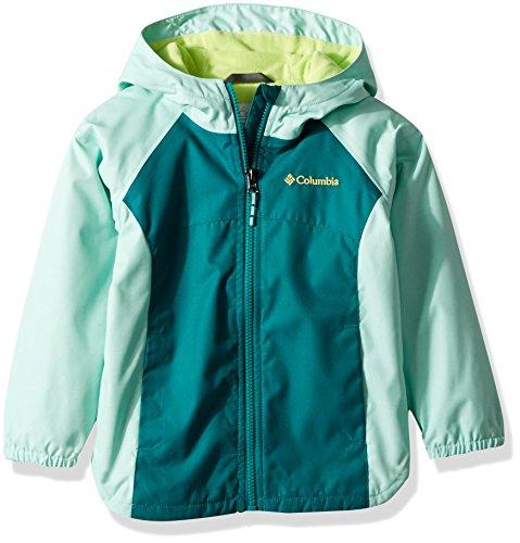 Columbia Girls' Little Endless Explorer Jacket, Emerald/Pixie, X-Small ()