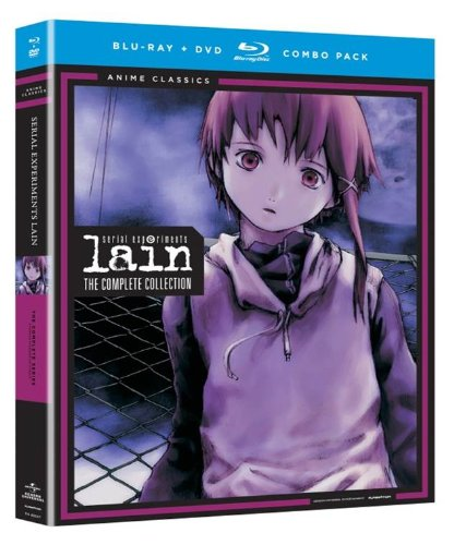 Blu-ray : Serial Experiments Lain: Complete Series - Classic (With DVD, 4 Disc)