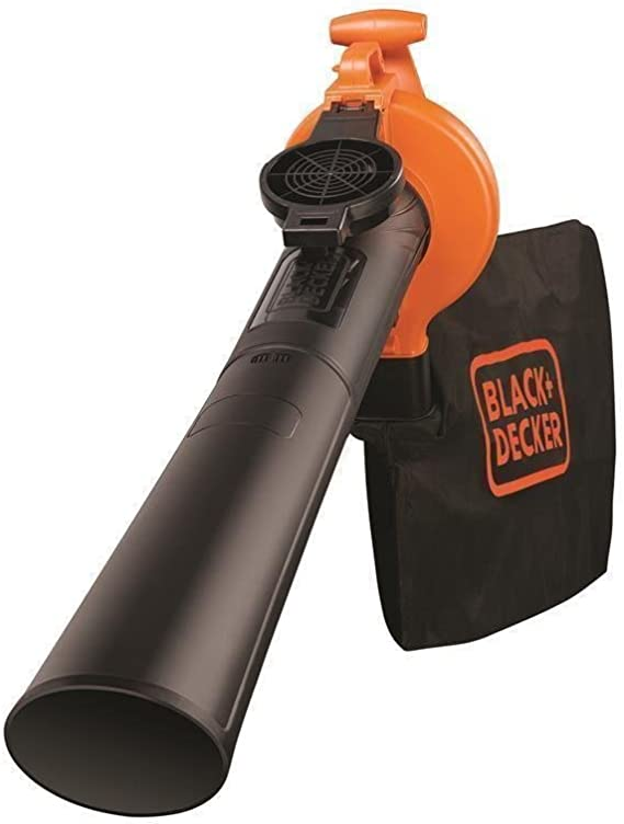 BLACK+DECKER GW2500-QS - Aspirador, soplador y triturador de hojas ...