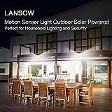Solar Lights Outdoor Motion Sensor [102 LED/6