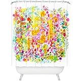 DENY Designs Stephanie Corfee Bubble Garden Shower Curtain, 69 x 72