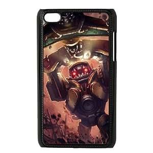 iPod Touch 4 Case Black League of Legends Subterranean Nautilus SH3037806