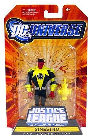 (DC Universe Justice League Unlimited Fan Collection Action Figure Sinestro)